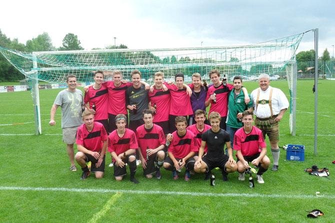 Nach dem letzten Spiel am 22.6.2013 in Lenggries (Ergebnis: 5-2)