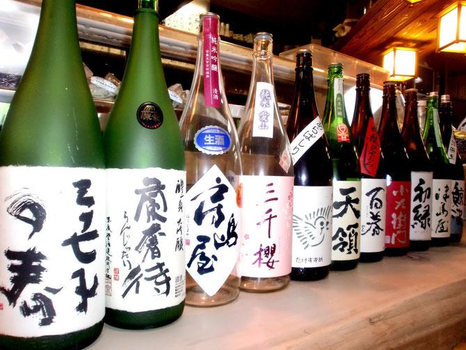 地酒、日本酒
