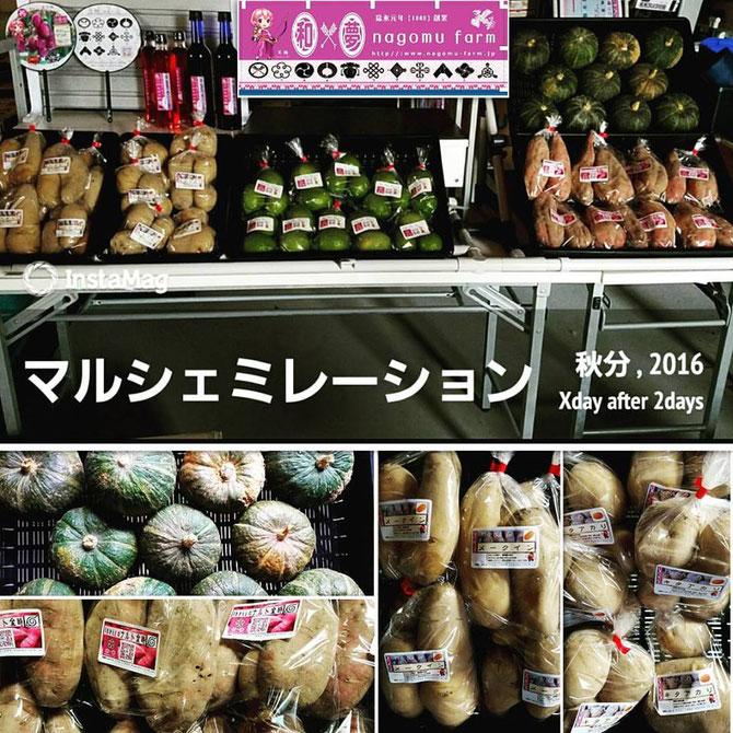 マルシェミレーション 【弁慶まつり】 2016秋の陣【初陣】 和×夢 nagomu farm