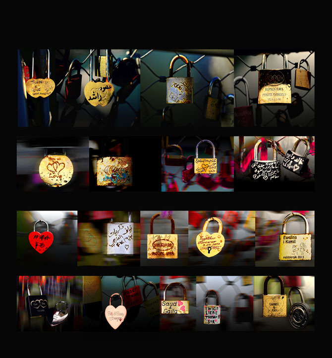 "Love Lock Wall  "" MIX 1 "" by Roland Carlos"