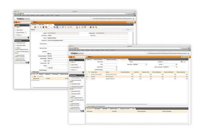 Trek Cloud ERP Solutions