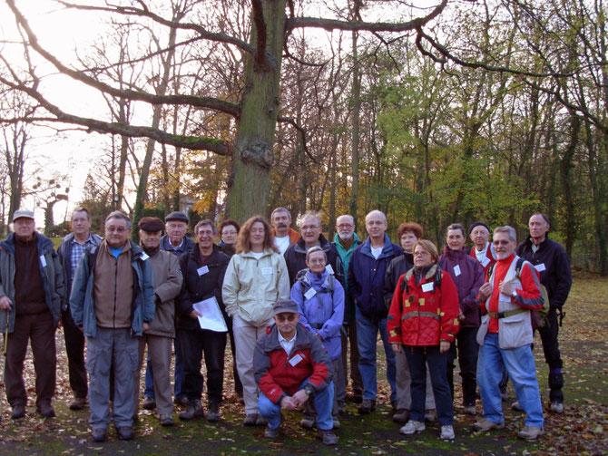 Journée des Présidents de clubs de randonnée pédestre des Hauts-de-Seine 21 novembre 2009