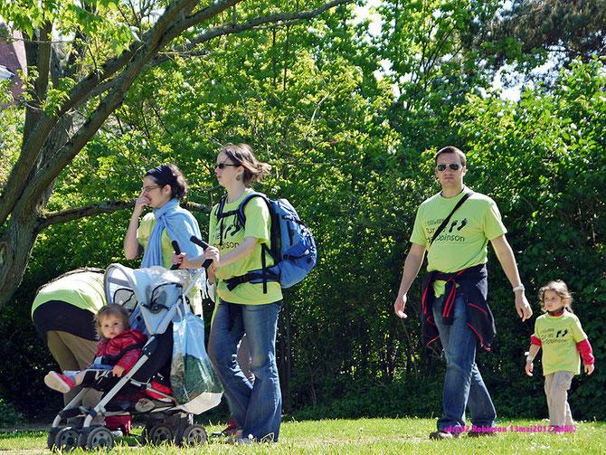 Sur les Pas de Robinson, randonnées ouvertes à tous au Plessis-Robinson le dimanche 13 mai 2012