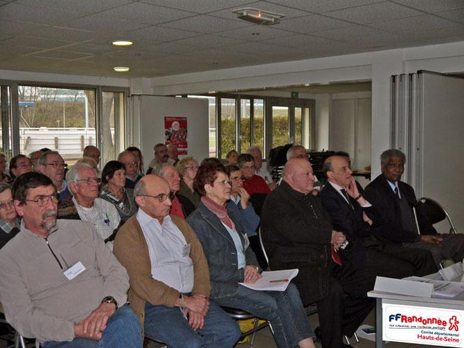 Assemblée Générale CDRP92 samedi 12 février 2011 en présence d'André Santini