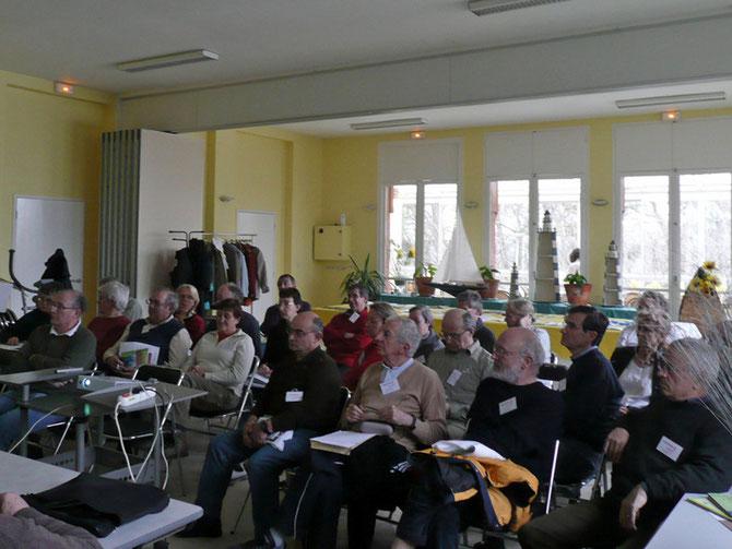 Journée des Présidents des Clubs de Randonnée Pédestre des Hauts-de-Seine 7 mars 2009 le Vert Bois à Rueil-Malmaison