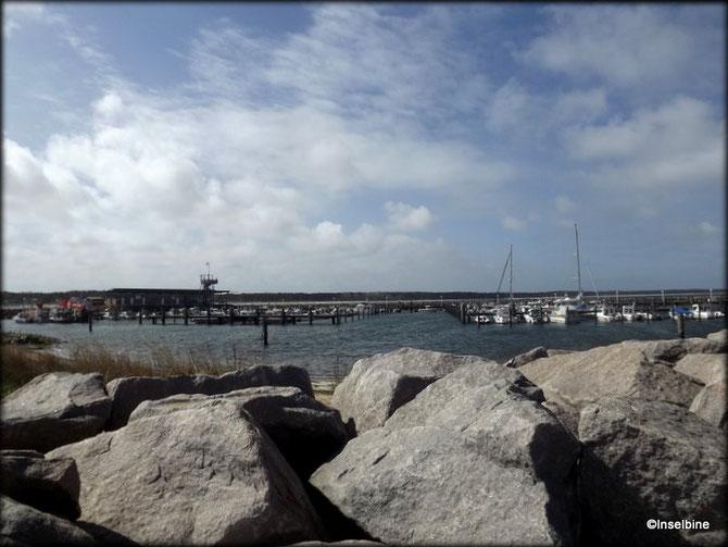 Der Hafen in Glowe