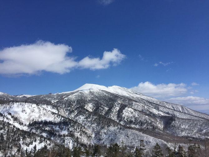 今週も岩手山がよく見えました~!ラッキー!!