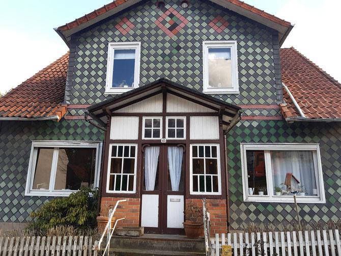 Denkmalgeschütztes Haus im Hils vorher