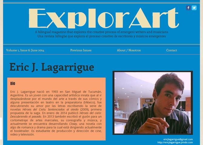 Entrevista en ExplorArt - 1era parte