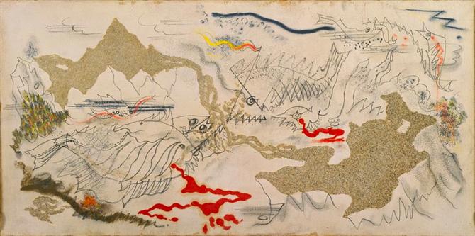 「魚の戦い」1927年