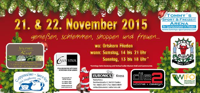 Flyer Tannenbäumchenfest Flieden 2015 - WIFO Flieden