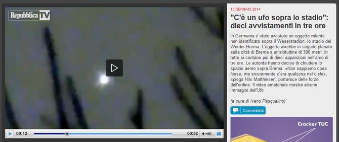 Da video.repubblica.it del 10 gennaio 2014