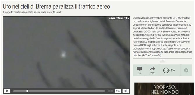 Da video.corriere.it del 9 gennaio 2014