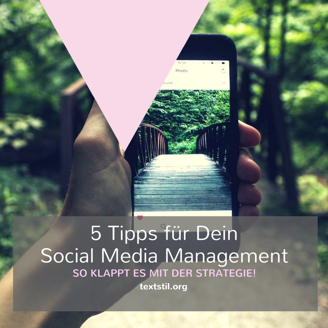 Strategie Social Media Management