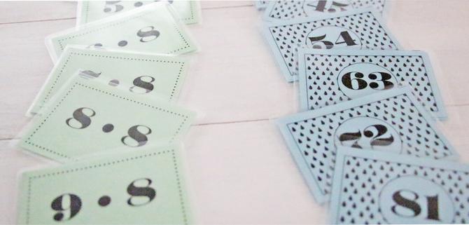 Karten zum lernen des Einmaleins, für Grundschüler und größere Kinder, noch mehr Ideen, um deinen Alltag einfacher zu machen, gibt es unter www.die-kleine-designerei.com