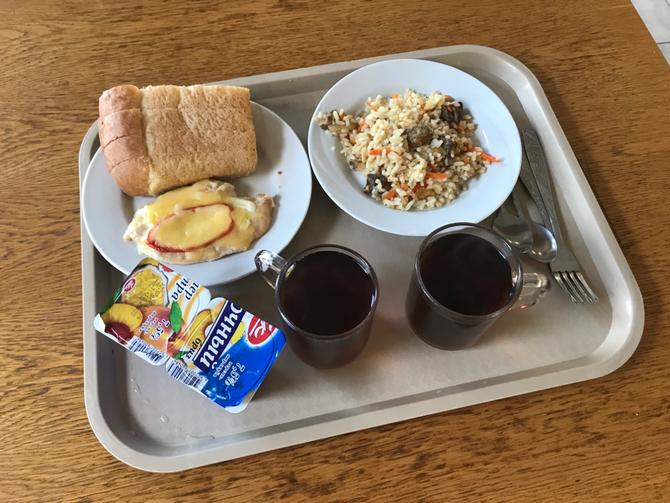 Kleines Frühstück in Tschetschenien