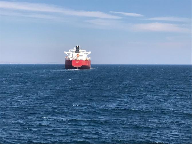 Dardanellen: Dicke Pötte auf dem Weg vom Mittel- zum Marmarameer