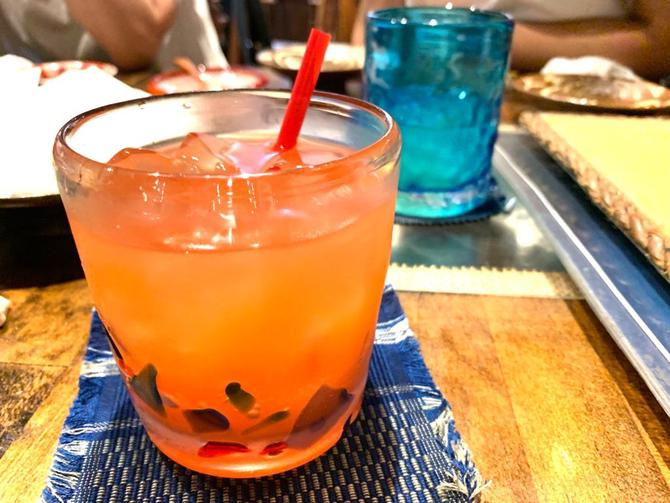 飲み物〜♪キレー!