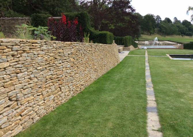Prices For Building Stone Dry Stone Walling Garden