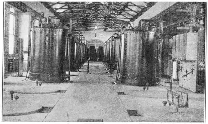 Transformer plant of the Niagara Power Company Canada. 1908