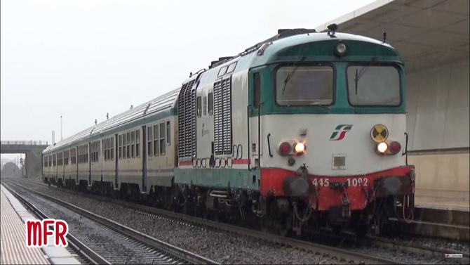 """""""TRIS di NAVETTONI SARDI: FS D445 + MDVC in viaggio tra CAGLIARI, S.GAVINO, CARBONIA, IGLESIAS"""": guarda il video!"""