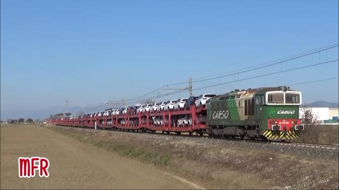"""""""Linea Pisa - Collesalvetti - Vada: DE 520 002 in testa alla TRADOTTA di BISARCHE per """"IL FALDO""""."""": guarda il video!"""