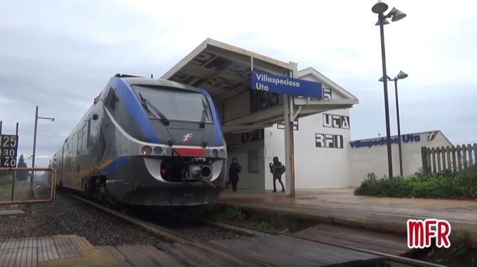 """""""Ferrovia Decimomannu - Iglesias: VILLASPECIOSA, stazione di VILLASPECIOSA - UTA (SU)"""": guarda il video!"""
