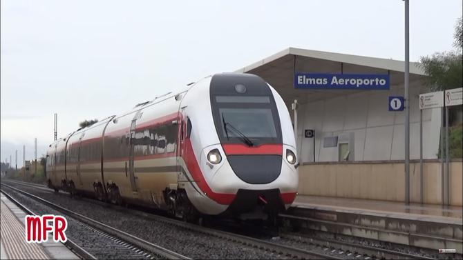 """""""Ferrovia Cagliari - Golfo Aranci, """"La dorsale Sarda"""": ELMAS, stazione di ELMAS AEROPORTO (CA)"""": guarda il video!"""