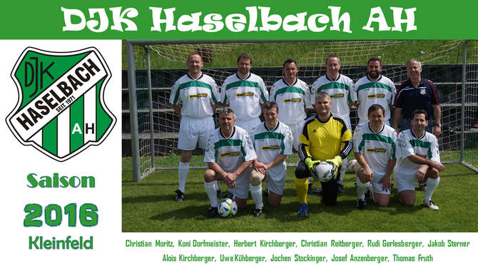 Kleinfeldmannschaft 2016