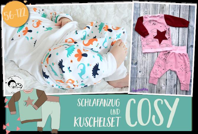 Lybstes Cosy Kuschelset und Schlafanzug Schnittmuster E-Book