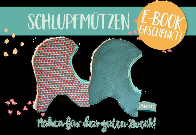 Schlupfmützen E-Book for free! Nähen für Flüchtlingskinder - Lybstes.
