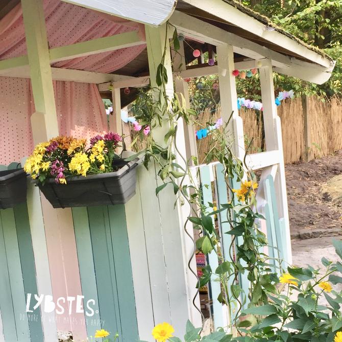 Lybstes Haus: Gartenhaus renovieren in Mint und Grau, Hauskauf2018, InteriorDesign