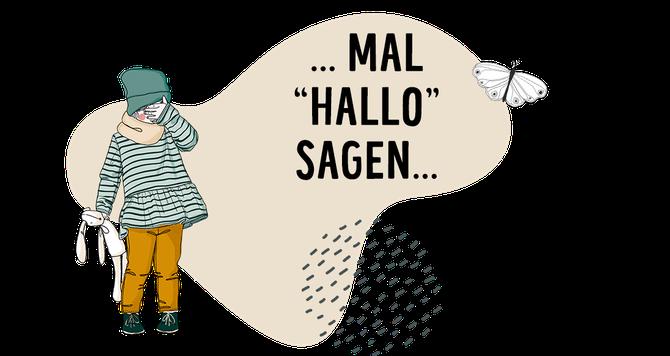 ... mal Hallo sagen - Kontaktseite