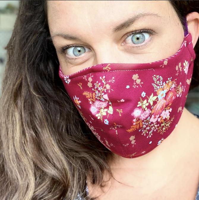 Mund-Spuckschutz Mund-Nasen-Maske selber nähen, DIY Nähanleitung für Corona-Zeiten, Kindermaske nähen