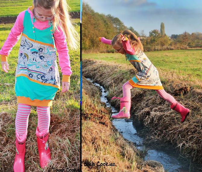E-Book/Schnittmuster Ballonkleid Milla von Lybstes jetzt auch für Kids und Teens!