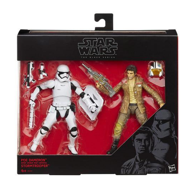 Poe dameron & first order riot control stormtrooper