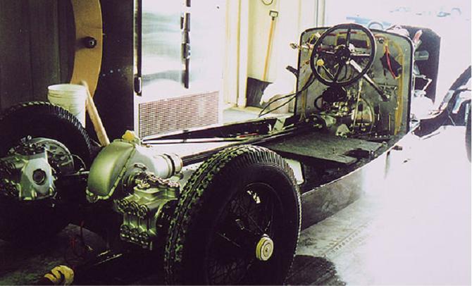 LE FAMEUX CHASSIS HISPANO-SUIZA H6C ACHETE EN 1932 AU SALON DE L'AUTO DE PARIS