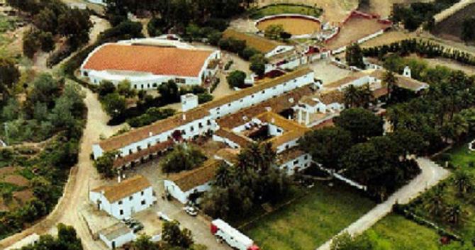 """GANADERIA """"TORRESTRELLA"""". LA PLUS BELLE FINCA D'ESPAGNE, FONDEE PAR DON ALVARO DOMECQ Y DIEZ EN 1951."""