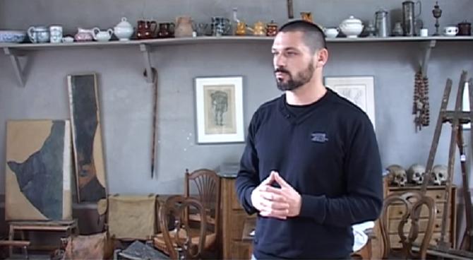 Michel FRAISSET Conservateur de l'ATELIER de CEZANNE