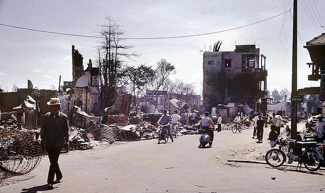 OFFENSIVE DU TÊT 1968.