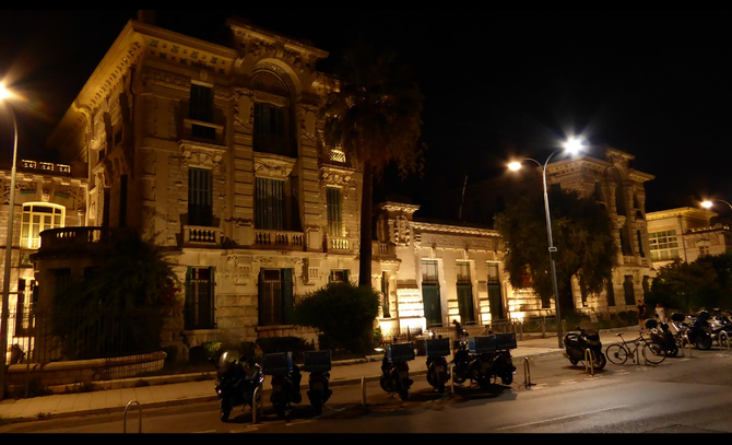 LE LYCEE FELIX FAURE - AUJOURD'HUI LYCEE MASSENA - où LES PRINCES ONT FAIT L'ESSENTIEL DE LEURS ETUDES SECONDAIRES.  C* VLAD Août 2016
