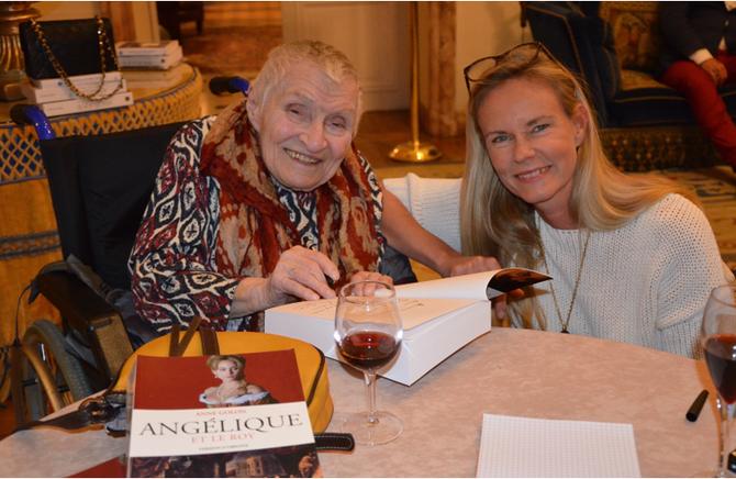 Jeudi 27 Avril 2017 . ANNE et S.A.R La Princesse Constance de BOURBON-PARME