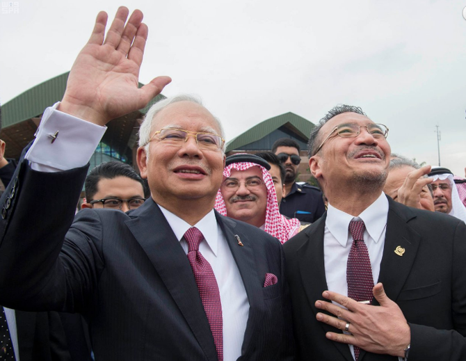 LE PREMIER MINISTRE NAJIB RAZAK et LE MINISTRE DE LA DEFENSE HISHAMMUDDIN  HUSSEIN