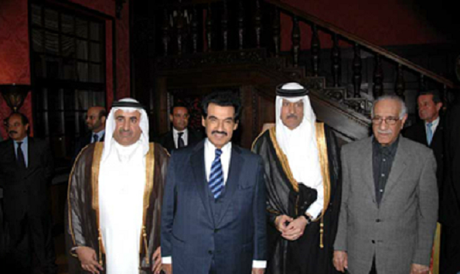 2006 BERLIN. RECEPTION AMBASSADE DU QATAR