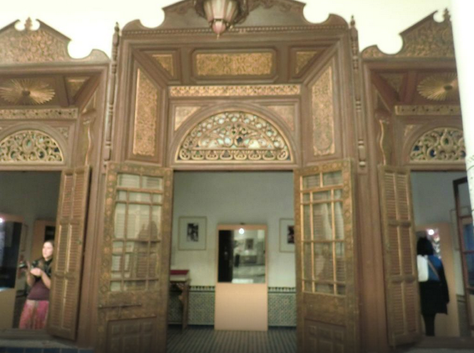 MUSEE DE MARRAKECH. FONDATION OMAR BENJELLOUN.   C* JOAO C.  Novembre 2014