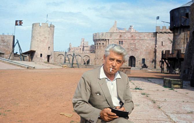 Georges WAKHEVITCH sur le tournage de Fêtes Galantes