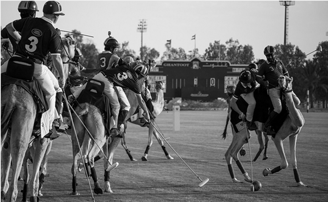 ABU DHABI MERCREDI 25 MARS 2015. THE HACKETT CAMEL POLO TROPHY