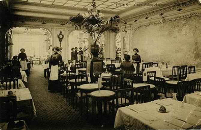 ANGELINA, MAISON DE THE FONDEE EN 1903 PAR LE CONFISEUR AUTRICHIEN ANTOINE RUPELMEYER 226 RUE DE RIVOLI  PARIS 1er