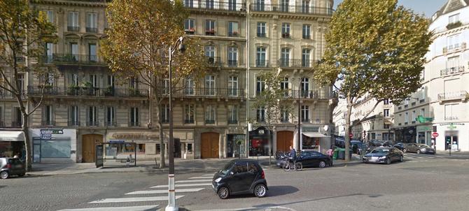 PARIS. 83 BOULEVARD MALESHERBES. ANCIENNE RESIDENCE PARISIENNE DU BARON DE DIETRICH.