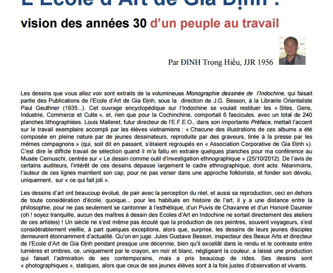 NOUS REPRODUISONS ICI LA PREMIERE PAGE I et CI-DESOOUS LA DERNIERE PAGE 10.